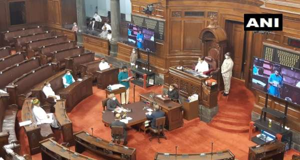 Newly elected (journalist John Brittas & CPI(M) leader V Sivadasan) & nominated/re-nominated Rajya Sabha members