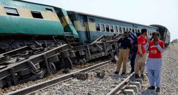 30 killed, 50 injured as passenger trains collide in Pakistan's Sindh province